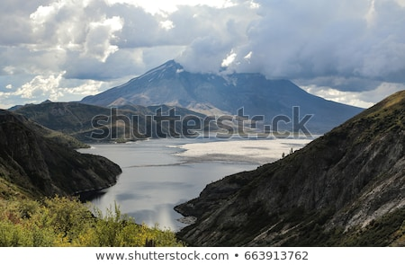 Mt. St. Helens and Spirit Lake Stock photo © searagen
