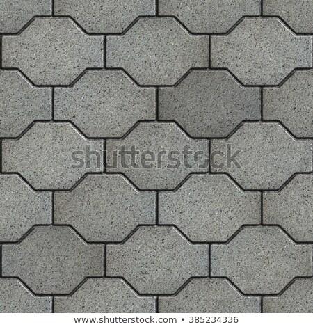 Ondulés gris construction Rock brique Photo stock © tashatuvango