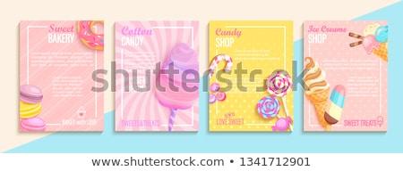 キャンディ コレクション タイプ カラフル 選択肢 ストックフォト © Soleil
