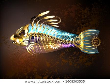 Abstrato colorido simbólico desenho mar Foto stock © shawlinmohd