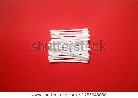 Acaso algodão ouvido azul plástico Foto stock © juniart
