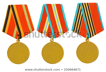 USSR Medal on a Black Background. Stock photo © tashatuvango