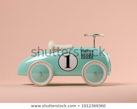 vintage toy cars stock photo © oleksandro