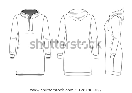 Hooded dress Stock photo © disorderly