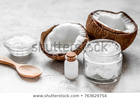 Coconut oil, essential oil, organic cosmetic  stock photo © xuanhuongho