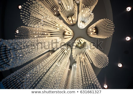 modern chandelier Stock photo © OleksandrO