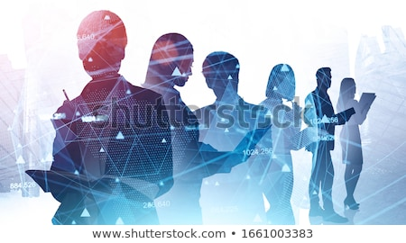 Partner Communication Concept Stock photo © Lightsource