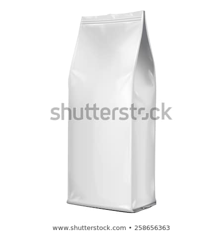Paper Bag Package Of Coffee Salt Sugar Pepper Spices Stock photo © netkov1