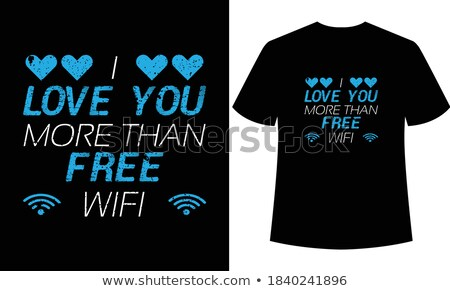 WiFi Word on Poster in Grunge Design. Stock photo © tashatuvango