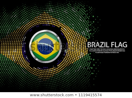 Brazil dotted banners Stock photo © gladiolus