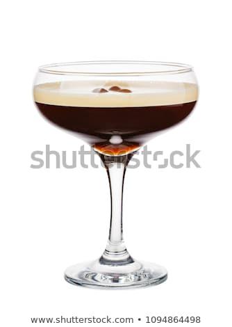 Coquetel café expresso martini vodka café licor Foto stock © netkov1