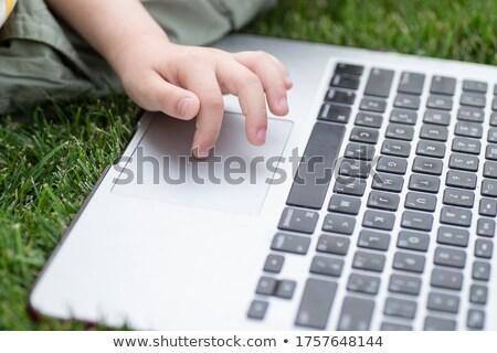 人 クリック キーボード ボタン 黄色 ストックフォト © tashatuvango