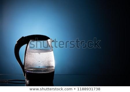 vidro · elétrico · isolado · branco · água - foto stock © petrmalyshev