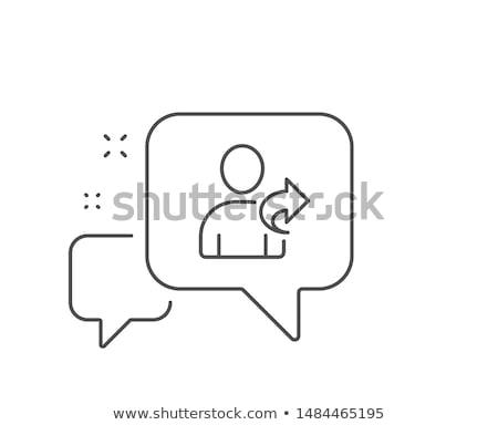 refer a friend arrows concept stock photo © ivelin
