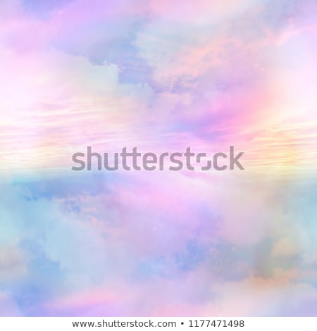 Seamless pattern - all over background - inspirational quotes on a pastel blue background Stock photo © gigi_linquiet