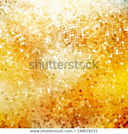 Defocused abstract golden. EPS 10 Stock photo © beholdereye