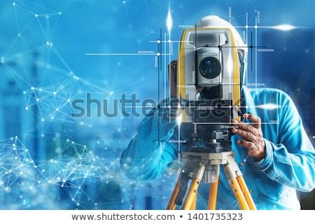 Araçları açık havada inşaat işçi Stok fotoğraf © shime