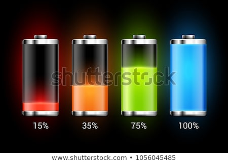 Charge Levels Battery Set Stock photo © make