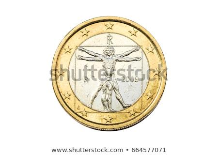 евро монеты человека деньги наличных человека Сток-фото © Digifoodstock