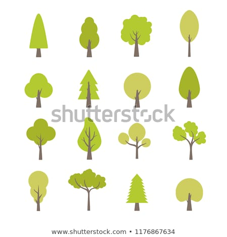 Decorative tree, vector illustration Stock photo © carodi