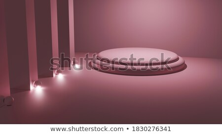 White clean room. 3D illustration Stock photo © cherezoff