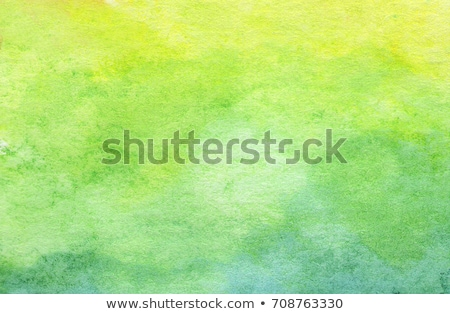 Watercolor grunge green stain Stock photo © Sonya_illustrations