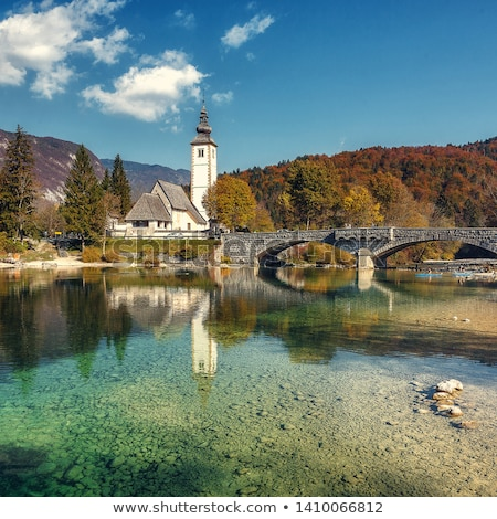 Beautiful Julian Alps landscape Stock photo © stevanovicigor