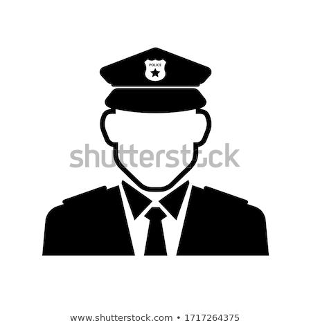 警察官 · 義務 · 緊急 · 法執行機関 · 通り · 法 - ストックフォト © popaukropa