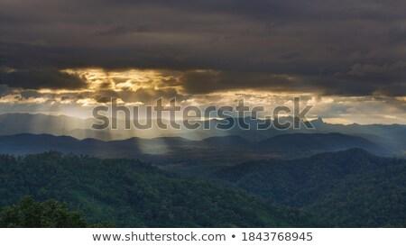 облака солнечный свет закат весны свет Сток-фото © serg64
