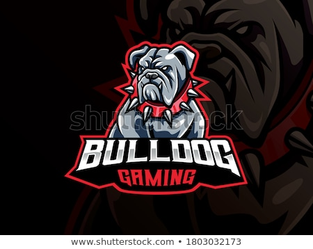Bulldog Esports Gamer Mascot Stock photo © Krisdog