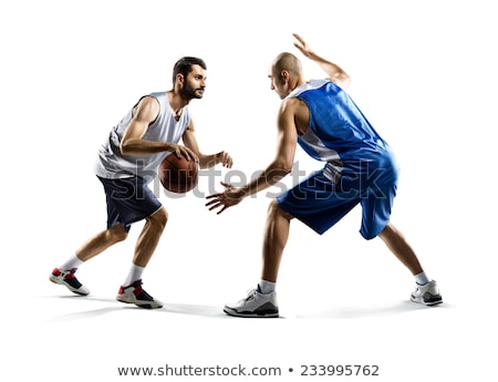 Portrait of two basketball players Stock photo © IS2