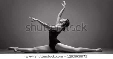 Bailarino poder estúdio menina beleza falante Foto stock © IS2