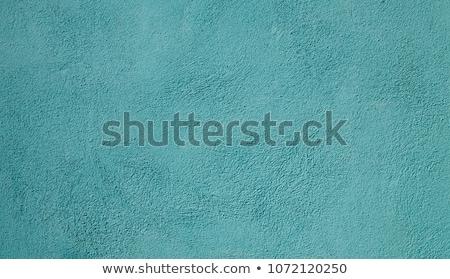 áspero cemento pared superficie cian textura Foto stock © stevanovicigor