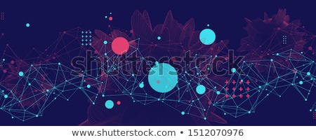 abstract web connections stock photo © alexaldo