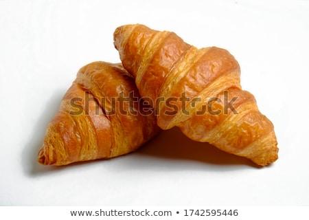 Stock photo: Fresh mini croissants