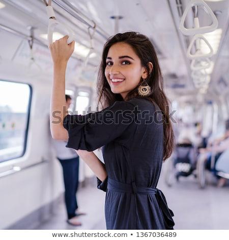 passageiros · metro · abstrato · cidade · grupo · urbano - foto stock © joyr