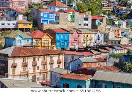 cityscape · colorido · velho · casas · cidade · edifício - foto stock © daboost