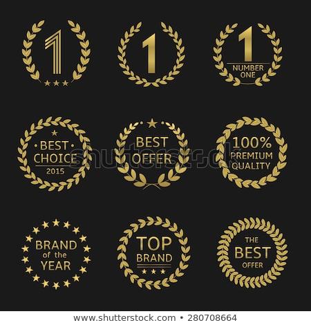 100 qualité meilleur attribution or proposer Photo stock © robuart