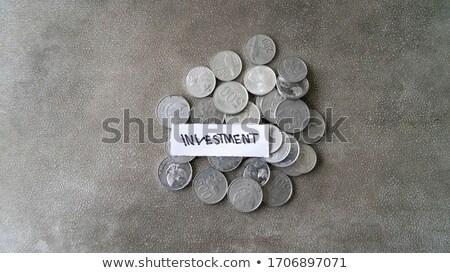assurance · risque · mot · employé · assuré · travaux - photo stock © vinnstock