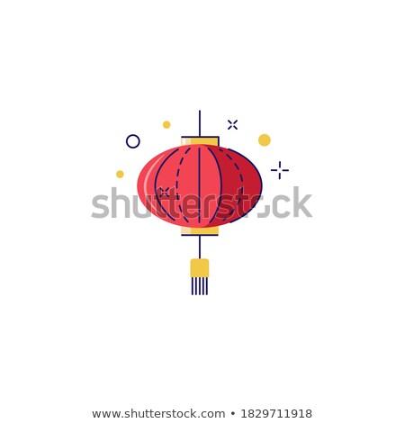 cultuur- · groet · vector · silhouetten · cultuur - stockfoto © robuart