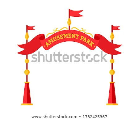 Amusement park entrance icon Stock photo © angelp