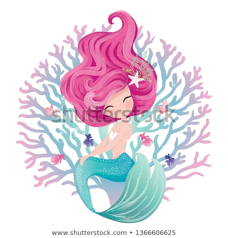 vector sea mermaid concept Stock photo © VetraKori