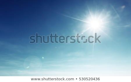 Görmek parlak güneş ufuk hat Stok fotoğraf © vapi
