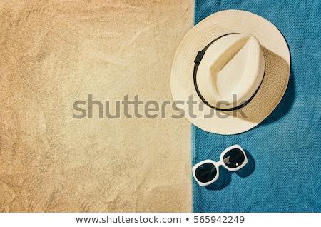Topo ver praia quadro cópia espaço visível Foto stock © grafvision