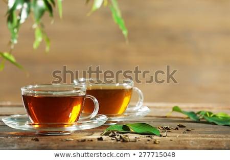Copo de chá chá medicinal Foto stock © Illia