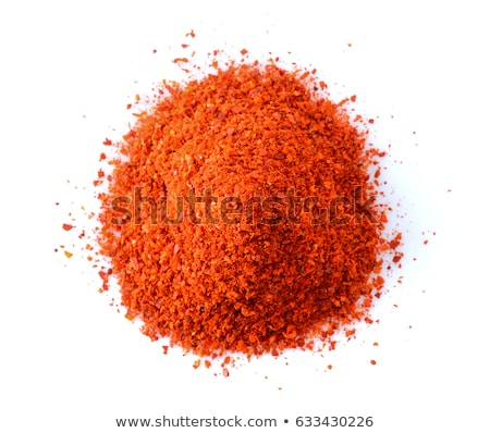 Cayenne Pepper Powder Background Stock photo © Bozena_Fulawka