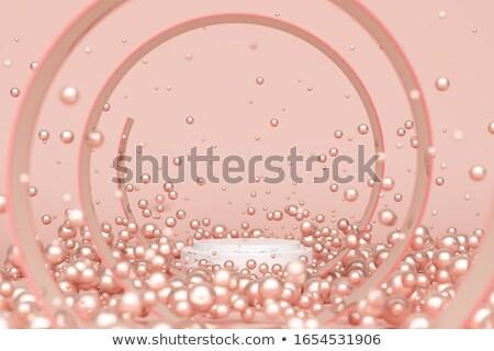 真珠 表示 木製 黒 ベルベット ストックフォト © Freelancer