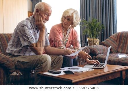 Senior kaukasisch paar naar Stockfoto © wavebreak_media