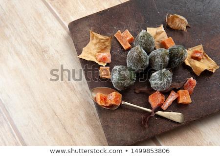 vruchten · mand · markt · kleurrijk · ondiep - stockfoto © photosil