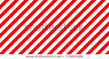 Figyelmeztető jel piros fehér csíkok grunge textúra ipari Stock fotó © evgeny89